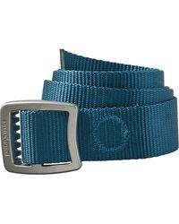Patagonia Tech Web Belt - Blue