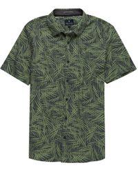 Roark Revival Bless Up Woven Short-sleeve Shirt - Green