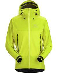 Arc'teryx Beta Sl Hybrid Jacket - Yellow