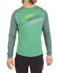 La Sportiva Stripe Evo Long-sleeve Shirt - Green