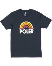 Poler - Mountain Rainbow T-shirt - Lyst