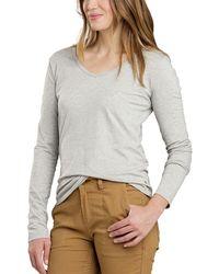 Toad&Co Marley Long-sleeve T-shirt - Gray