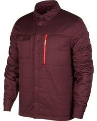 Nike - Sb Top Ls Holgate Winterized Jacket - Lyst