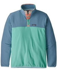 Patagonia Micro D Snap-t Fleece Pullover - Green