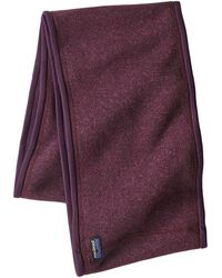 Patagonia Better Sweater Scarf - Purple