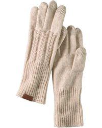 Pendleton Cable Glove - Natural