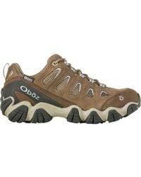 Obōz Sawtooth Ii Low B-dry Hiking Shoe - Brown