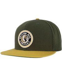 Brixton - Rival Snapback Hat - Lyst