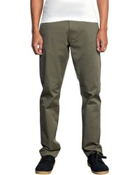 RVCA Weekend Stretch Pant - Green