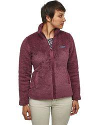 Patagonia Los Gatos Fleece Jacket - Purple