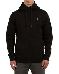 Volcom - Single Stone Full-zip Hoodie - Lyst