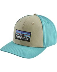 715924fbeb1 Lyst - Patagonia Gpiw Badge Roger That Hat in Blue for Men
