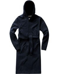 Reigning Champ Midweight Hooded Robe - Blue