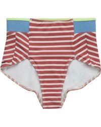 Seea Swimwear - Arcadia High Waist Bikini Bottom - Lyst