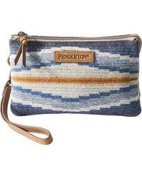 Pendleton Three Pocket Keeper - Blue