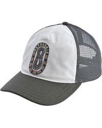 ad72f130b0646 Patagonia  breaker Badge  Trucker Hat in Gray for Men - Lyst