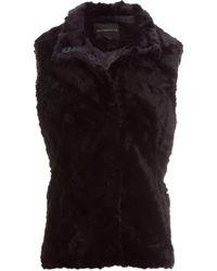 Weatherproof - Faux Fur Vest - Lyst