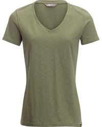 The North Face - Sand Scape V-neck Short-sleeve T-shirt - Lyst