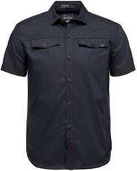 Black Diamond Benchmark Short-sleeve Shirt - Black