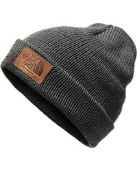 58ea523ec The North Face Cryos Cashmere Beanie in Black for Men - Lyst
