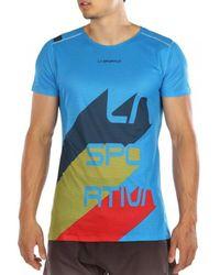 La Sportiva Stream T-shirt - Blue