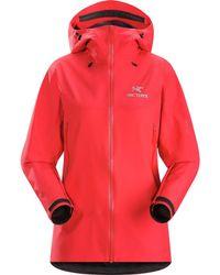 Arc'teryx Beta Sl Hybrid Jacket - Red