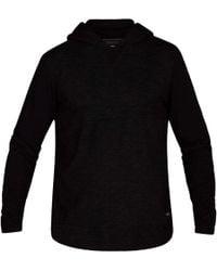 Hurley Dri-fit Lagos Pullover Hoodie - Black
