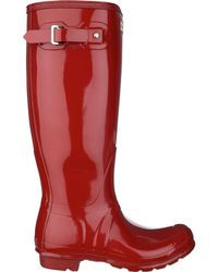 HUNTER - Original Tall Gloss Boot - Lyst