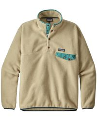 Patagonia - Lightweight Synchilla Snap-t Fleece Pullover - Lyst