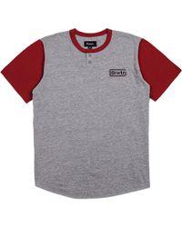 Brixton - Springfield Short-sleeve Henley Shirt - Lyst