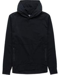 Vuori Ponto Performance Pullover Hoodie - Black