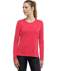 Yves Salomon Agile Long-sleeve T-shirt - Red