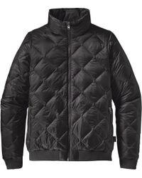 Patagonia - Prow Bomber Down Jacket - Lyst
