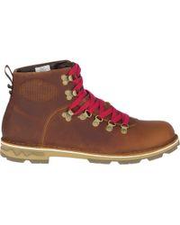 Merrell Sugarbush Braden Mid Leather Waterproof Boot - Brown