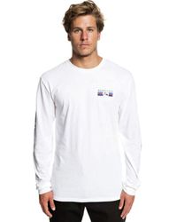 Quiksilver - Step Up Step Long-sleeve T-shirt - Lyst