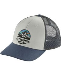 Lyst - Patagonia  lopro - Moonset  Trucker Hat in Blue for Men 75e606bb23bc