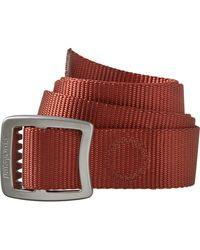 Patagonia Tech Web Belt - Red