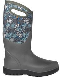Bogs Neo-classic Tall Nw Garden Boot - Gray