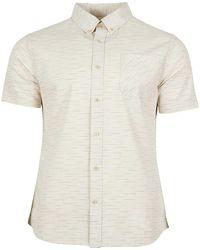 United By Blue Coastline Short-sleeve Button-up Shirt - White