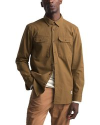 0a2647ca7 The North Face Goose Red Label Hoodoo Shirt Rosin Green for Men - Lyst