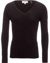 White + Warren - Essential V-neck Sweater - Lyst