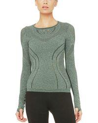 Alo Yoga - Lark Long-sleeve Shirt - Lyst