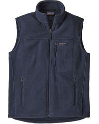 Patagonia Classic Synchilla Fleece Vest - Blue
