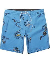 Vissla Summer Vacation 17.5in Boardshort - Blue