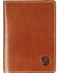 Fjallraven - Leather Passport Cover - Lyst