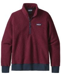 Patagonia Woolyester Fleece Pullover - Red