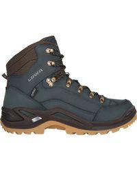 Lowa Renegade Gtx Mid Hiking Boot - Blue