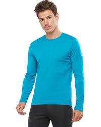 Salomon Agile Long-sleeve T-shirt - Blue