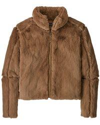 Patagonia Lunar Frost Jacket Bearfoot Tan - Brown