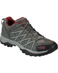 The North Face Storm Iii Hiking Shoe - Gray